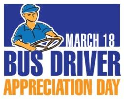 Bus Driver Appreciation Day logo