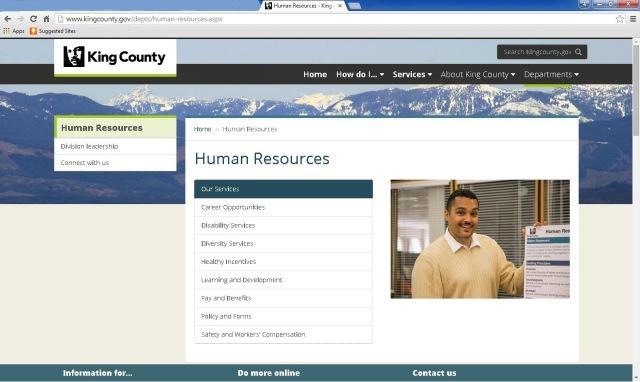 HRD web screenshot