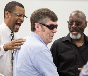 John Boone (middle), named Metro's 2014 Transit Operator of the Year