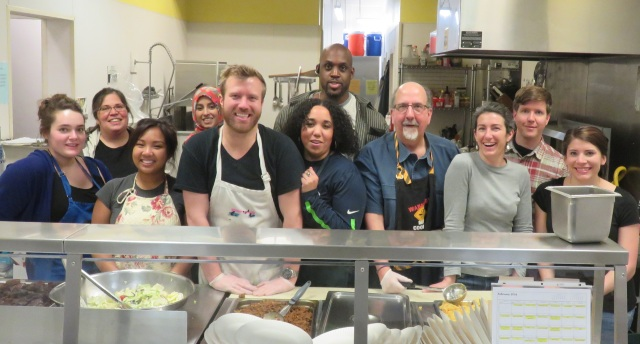 The meal in February pulled together a new group of DPD employees – nearly all of them were members of DPD's civil commitment team.
