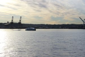 The King County Water Taxi was recently honored as one of the best passenger ferries of 2015.