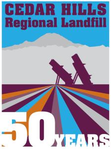 50 years Cedar Hills Landfill