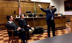 Drug court graduate Josh Kerns shares his story through rap.