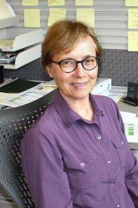 KCIT Sr Business Analyst Barb DeLauter serves as a mentor in the Albers Mentors Program at Seattle University.