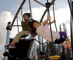Steve Cox Memorial Park new play area
