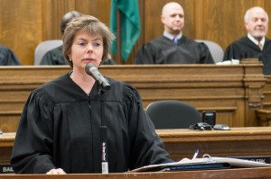 King County Superior Court Presiding Judge Susan Craighead