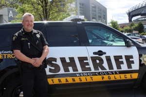 Marcus Williams, Captain of Public Safety in the King County Sheriff's office