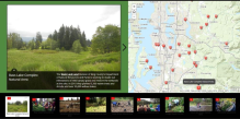 Restoration projects map