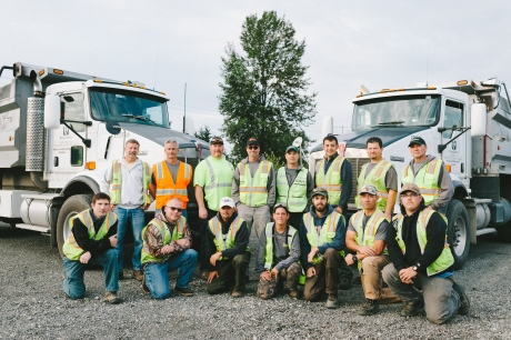 Aaron Hall and his crew within the King County Department of Natural Resources and Parks.