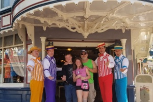 One of many highlights in his life, Officer Antonius and his grandkids spontaneously performed with The Dapper Dans at Disneyland!