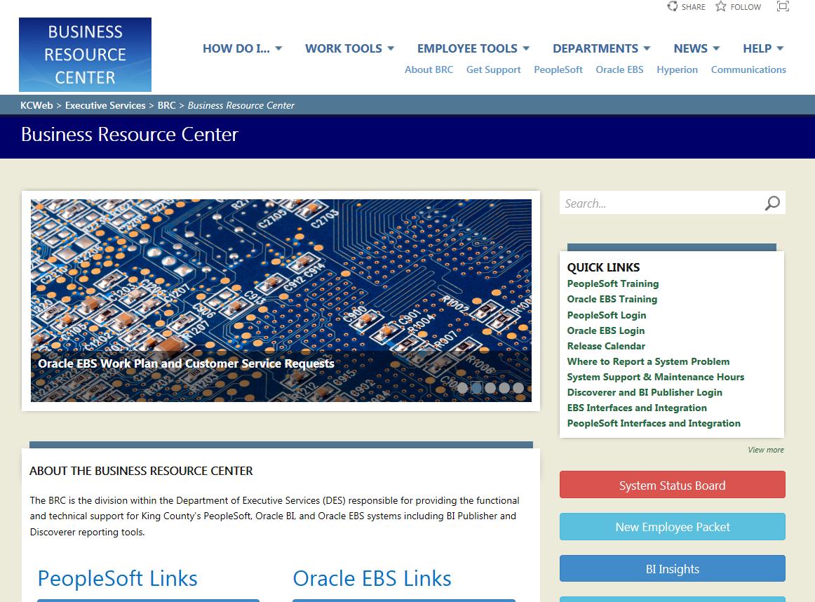 new business resource center website kc employee news
