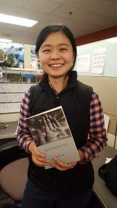 ESJ book winner Lusha Zhou