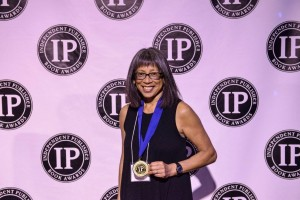 Donna Miscolta, recipient of the Independent Publisher Gold Medal for Best Regional Fiction, West-Pacific.