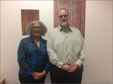 Pictured from Kent RJC: Left to right Suzette Van Aken and David Alber.