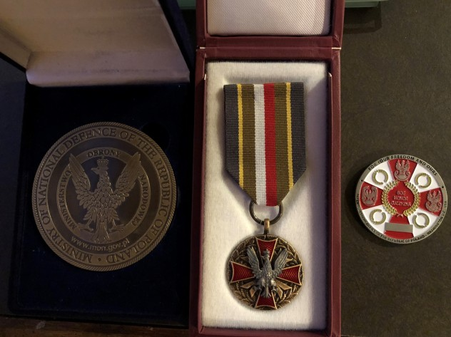 Anthony Polish Armed Forces Medal