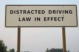 distracted driving images