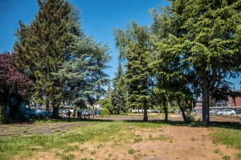 The City of Tukwila would like to purchase the vacant lot and turn it into a community park.