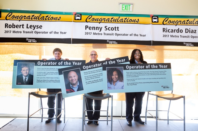 Metro Operators of the Year