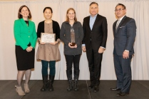 Pictured: Environment Award winners, North Utilities Net-Zero Energy Project (DNRP/Parks)