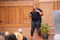 Pictured: Sharon Nyree Williams, a spoken word artist.