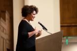 Pictured: Keynote speaker author Ijeoma Oluo.