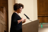 Pictured: Keynote speaker author Ijeoma Oluo.